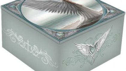 Anne Stoke Spirit Guide Box With Mirrored Lid