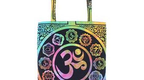 Indian Om Shopper Bag