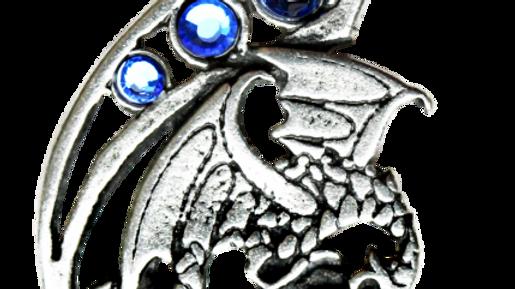 Fire & Ice Pendant Dragon