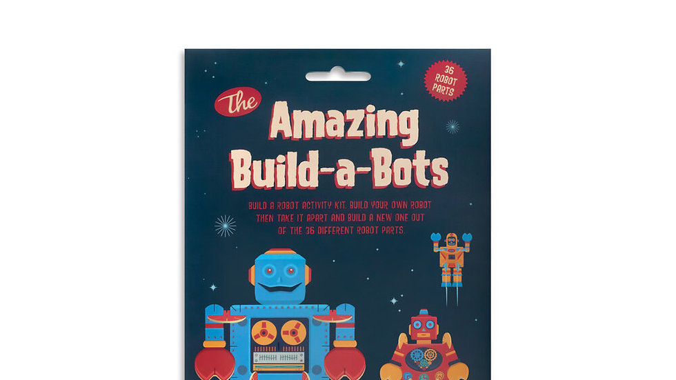 The Amazing Build-A-Bots Clockwork Soldier