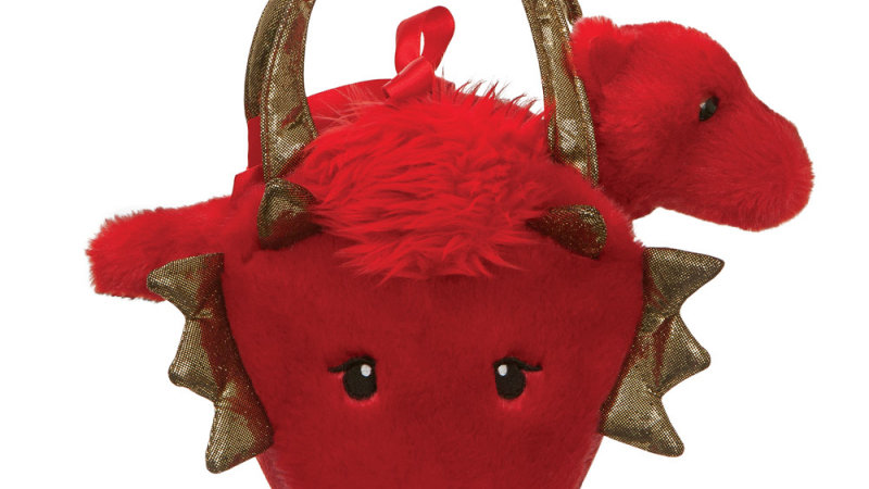 Red Dragon in Bag