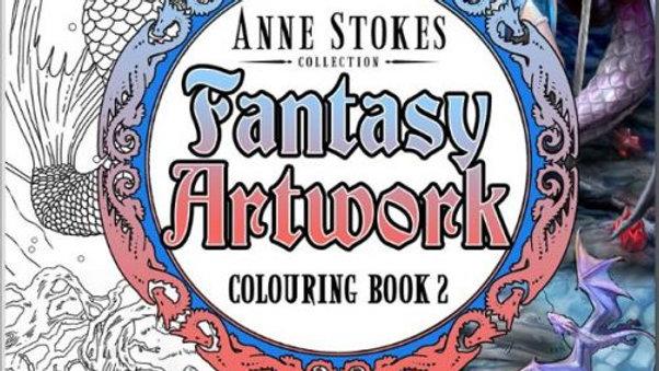 Anne Stokes Fantasy Colouring Book 2