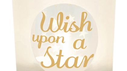 Wish Upon A Star Tea Light Holder