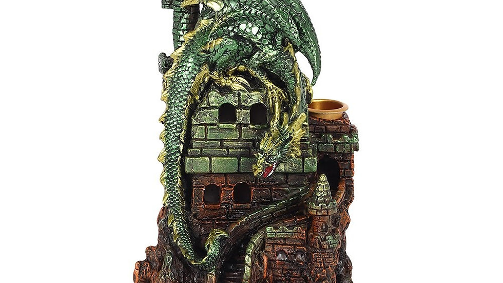 Green Dragon Backflow Incense Burner