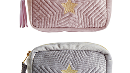 Lily Loves Star Make Up Bag Pink