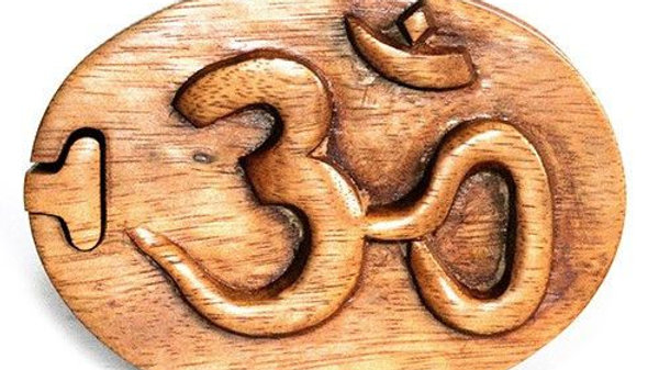 Om Puzzle Box Fair Trade from Bali