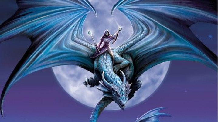 Anne Stokes Moonstone 1000 Piece Jigsaw Puzzle
