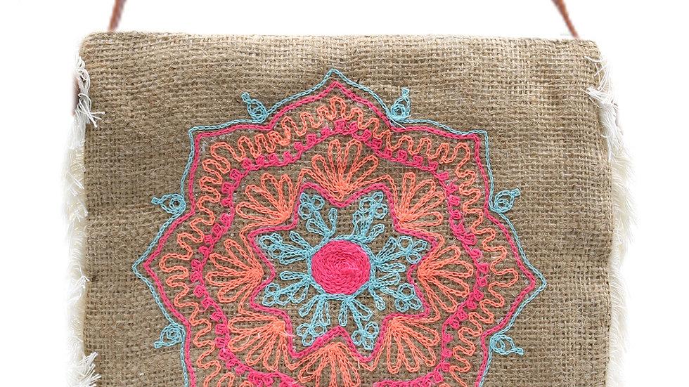 Mandala Fringe Bag