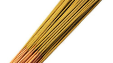 Hand Picked 35 Indian High Quality Incense Peach Mango