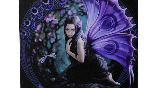 Naiad Anne Stokes Canvas Picture 25cm X 19cm