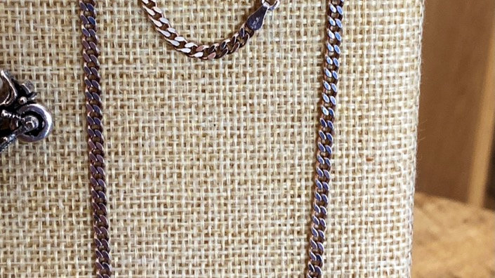 24 inch Silver Necklace 3mm