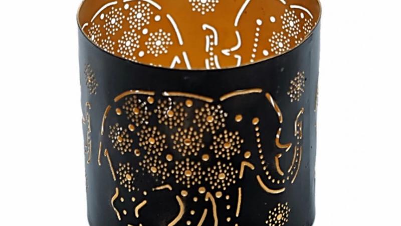 Elephant Tea Light Holder