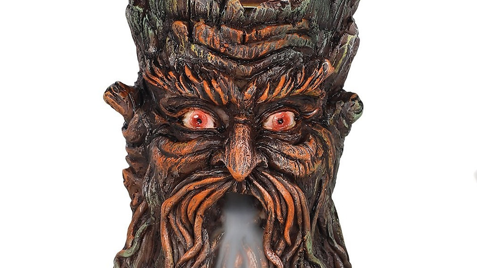 Small Green Man Back Flow Incense Burner