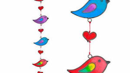 Strings Of Birds Suncatcher