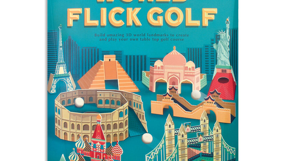 World Flick Golf Clockwork Soldier