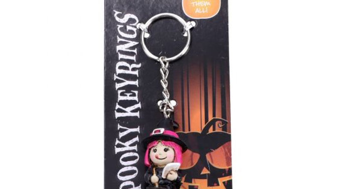 Spooky Witch Keyrings