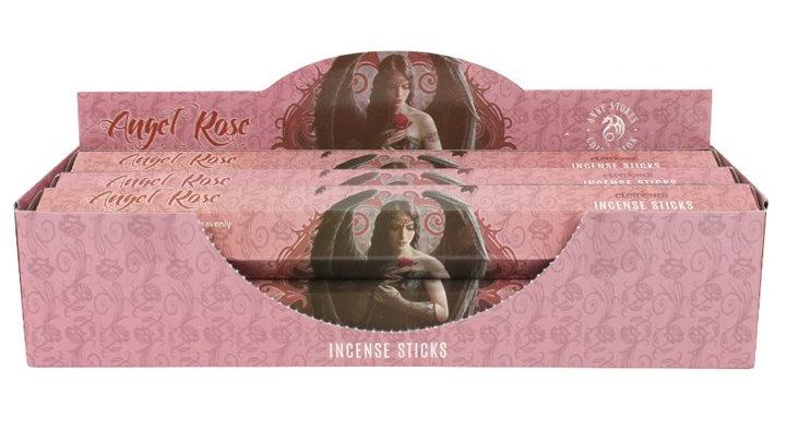 Anne Stokes Angel Rose Incense Sticks Tube