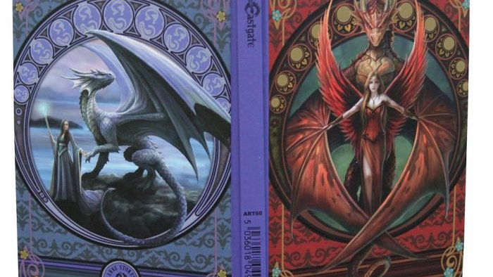 Copperwing Dragon Journal Anne Stokes