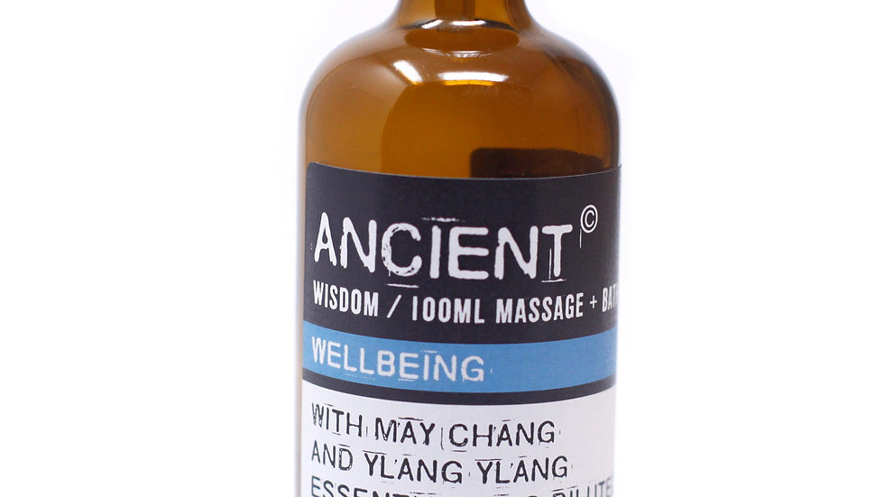 Wellbeing Massage Oil + Bath Oil