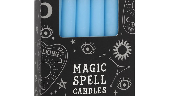 Spell Candles Blue Peace