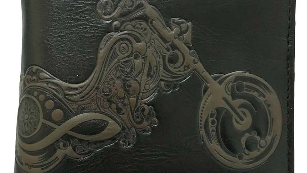 Wallet Embossed Motorcycle