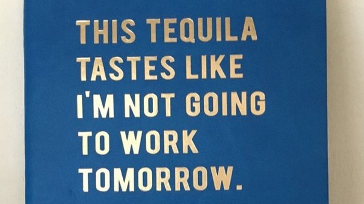 This Tequila Tastes Like Notebook
