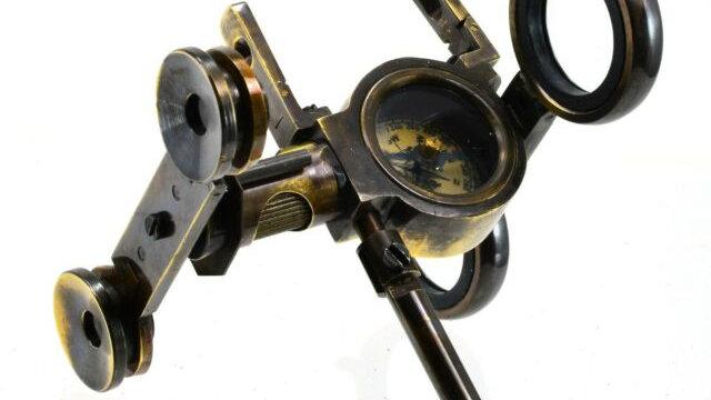 Folding Binoculars & Compass