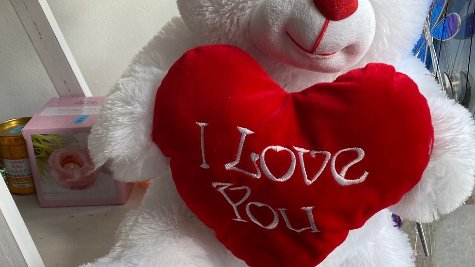 "Large 20"" I Love You Teddy"