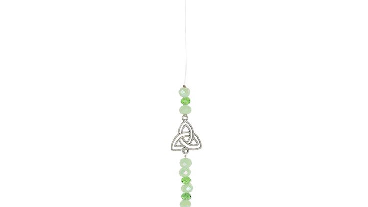 Triquetra Crystal Hanging