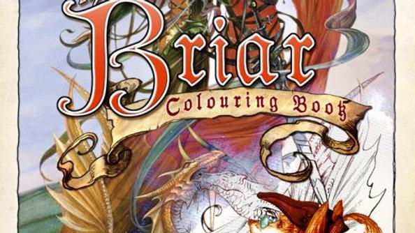 Briar Colouring Book