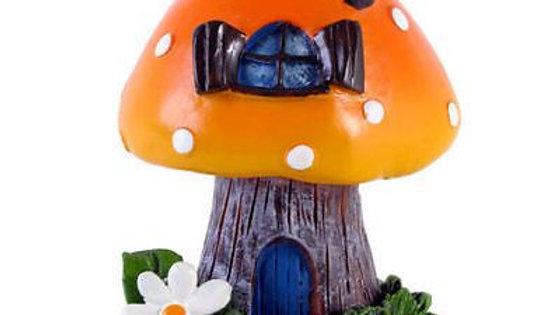 Fairy Village Orange Incense Cone Burner Lisa Parker