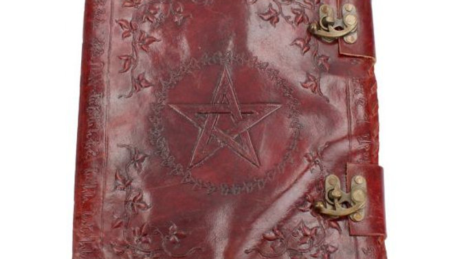 Large Leather Journal  Book of Shadows 35cm