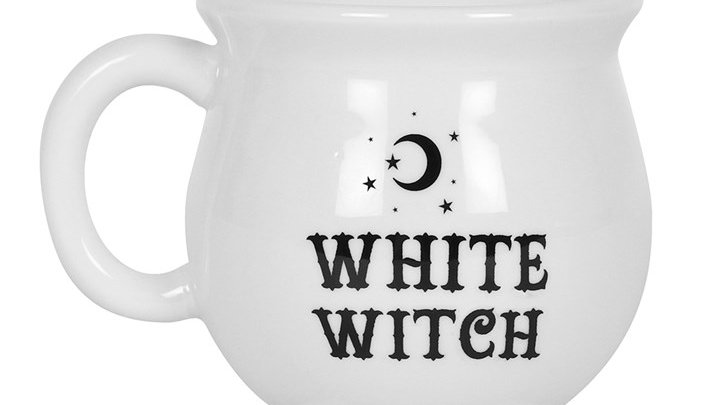 White White Cauldron Mug