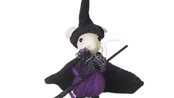 Witch Felt Mouse