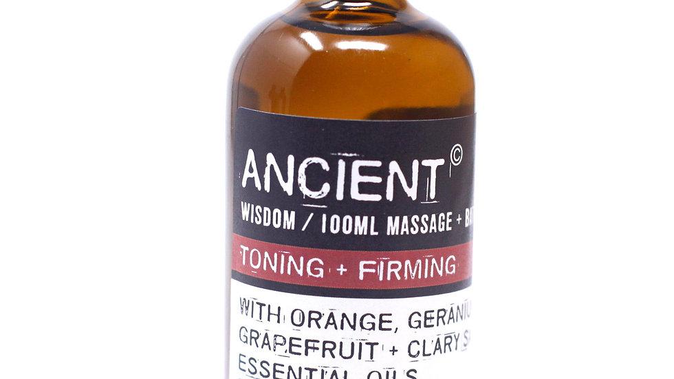 Toning & Firming Massage Oil +Bath Oil
