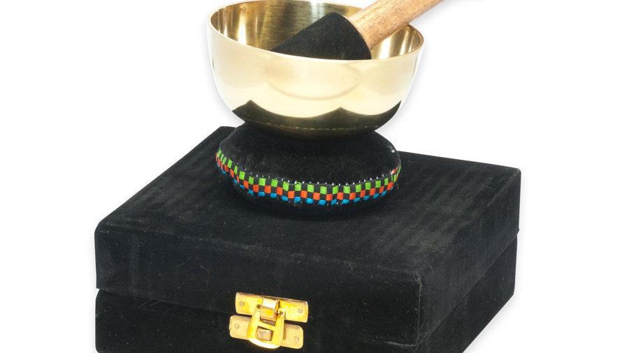 Small Velvet Boxed Singing Bowl