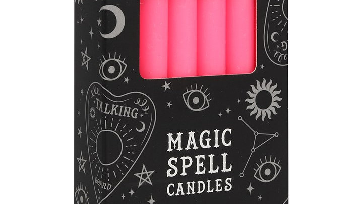 Spell Candles Pink Friendships