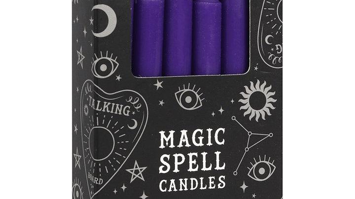 Spell Candles Purple Prosperity
