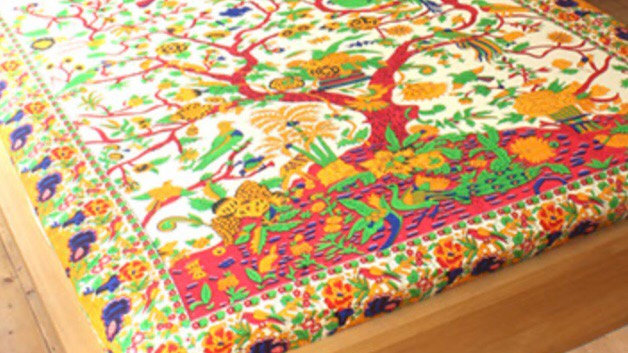 Tree of Life bedspread, rug or wall hanging