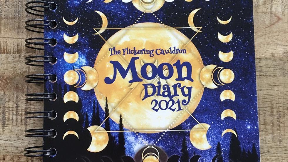 Moon diary 2021