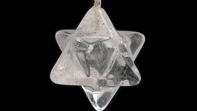 Clear Quartz Merkaba Pendant