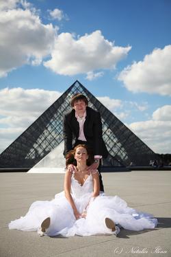 Свадьба в Париже, фотосессия