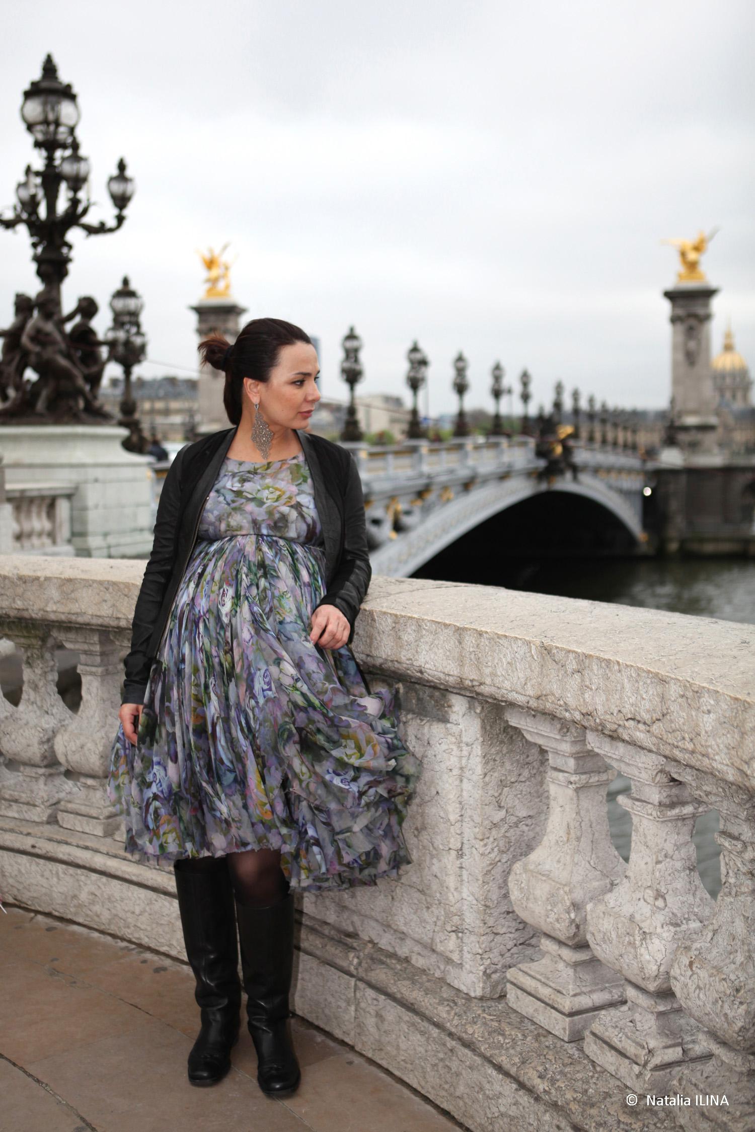 Фотосъемка на мосту Александра III
