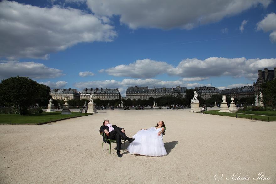 Под солнцем Парижа