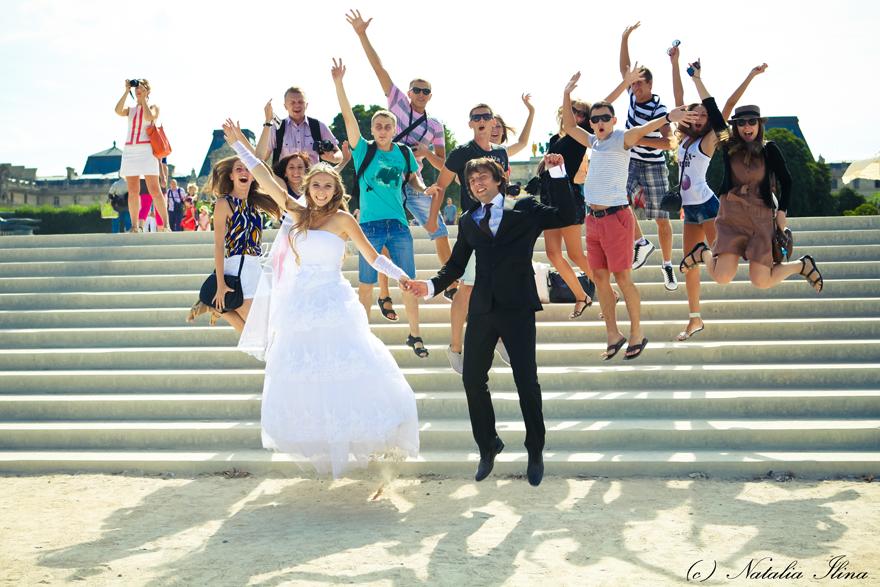 групповые фотографии на свадьбу