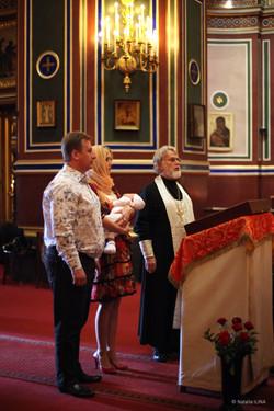 Крещение в Париже