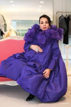 В примерочной haute-couture