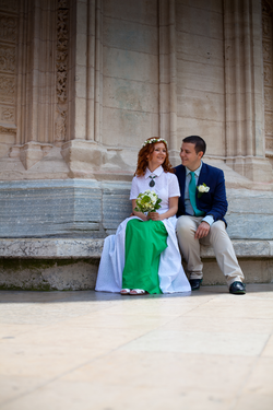 Перед венчанием