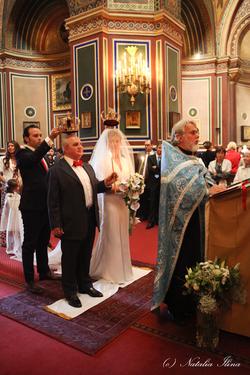 венчание в церкви, фотосессия