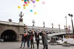 День рождения в Париже